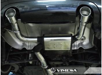 Escape final deportivo VIMESA, para AUDI TT 8N, 1998-2006