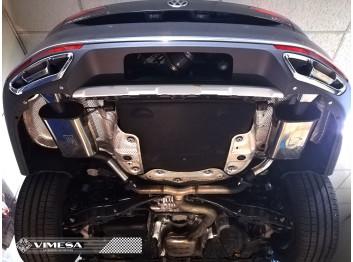Escape final deportivo VIMESA, para VW PASSAT ALLTRACK B8