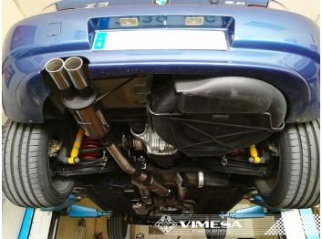 Línea de escape deportiva VIMESA, para BMW Z3 2.8, 1997-2000