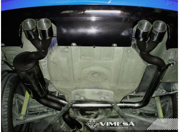 Escape final deportivo VIMESA, para BMW 320ci E46, 1998-2006