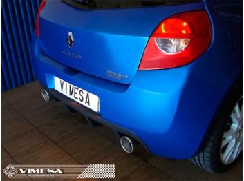 Escape deportivo VIMESA, para RENAULT CLIO RS MK3