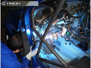 Arco de seguridad multipunto VIMESA RENAULT CLIO RS 200CV MK3
