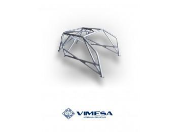 Arco de seguridad 8p, construido a medida por Vimesa, para INFINITI G37 Coupe S