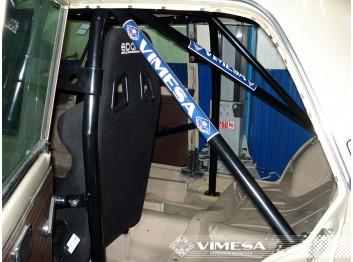 Arco de seguridad 8p VIMESA, para SEAT 124